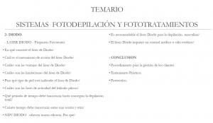 Master & Curso Fotodepilación y Fototratamientos