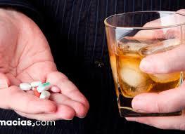 El ibuprofeno, aumenta como disminuye la acción del alcohol