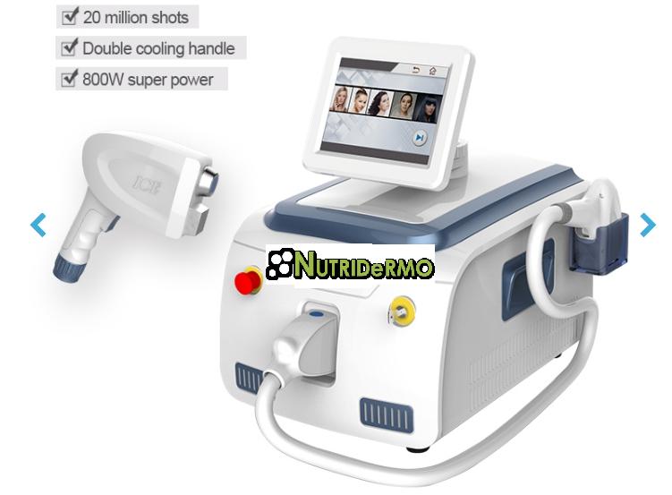 NDV Smart DÚO PhotoEpil (Diodo 755-808-1064nm + IPL/SHR)
