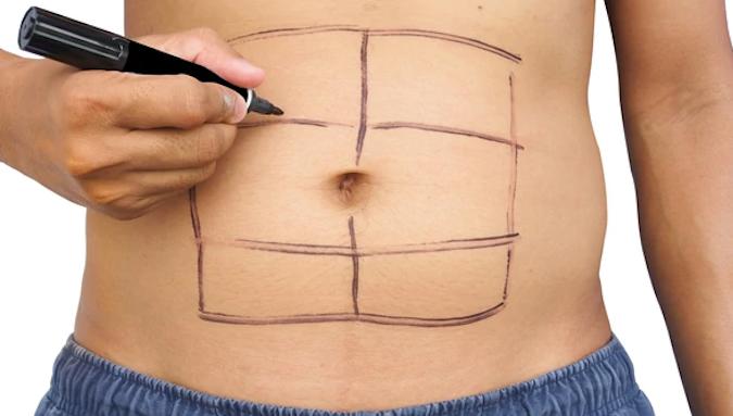 Marcar abdominales, deshacerte de esos michelines y lucir un vientre plano en 7 minutos