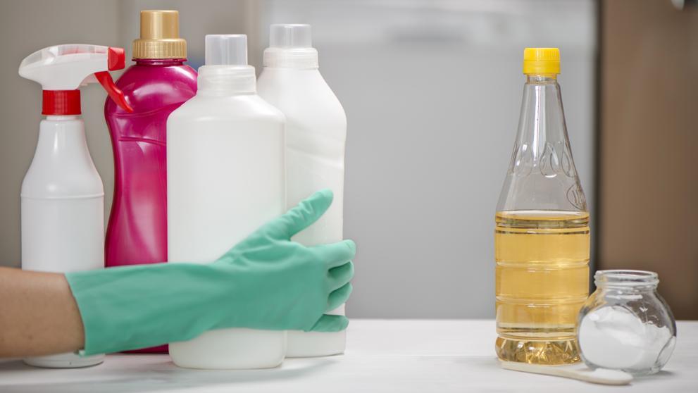¿Si No tienes alcohol? Puedes desinfectar tus manos con VINAGRE